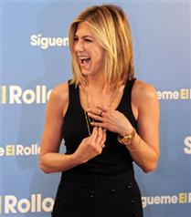 Jennifer Aniston`ın kısa saçları