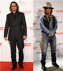 Johnny Depp tarzı!