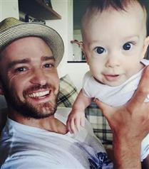 Justin Timberlake`in oğlu Silas Timberlake