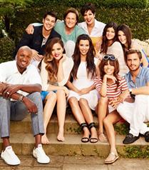 Kardashian ailesinin çocukluk fotoğrafları