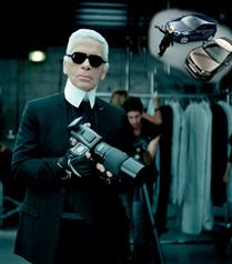 Karl Lagerfeld Volkswagen ortaklığı