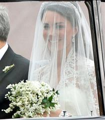 Kate Middleton salona geldi