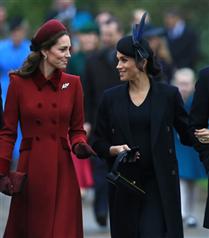 Kate Middleton ve Meghan Markle'ın Noel Şıklığı