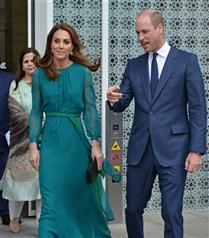 Kate Middleton'ın Göz Kamaştıran Yeşil Elbisesi