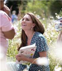 Kate Middleton'ın Kusursuz Çiçek Festivali Stili