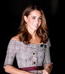 Kate Middleton'ın Şaşırtan Elbise Tercihi