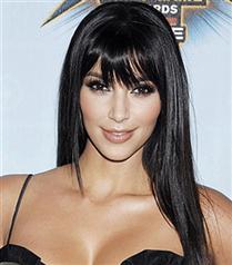 Kim Kardashian kahkül kesti