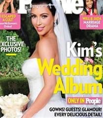 Kim Kardashian`ın gelinliği