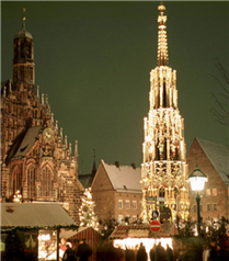 Kışın keyfi `Noel Panayırı`yla Almanya`da yaşanıyor