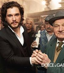 Kit Harington Dolce & Gabbana Reklamı