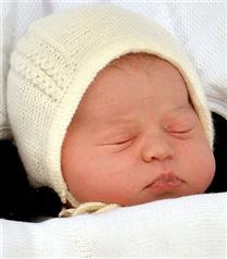 Kraliyet bebeğinin adı belli oldu