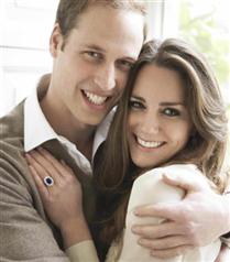 Kraliyet`in resmi nişan fotoğrafları!