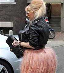 Lady Gaga flamingo kostümü
