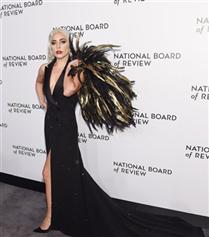Lady Gaga'nın Büyüleyici Siyah Şıklığı