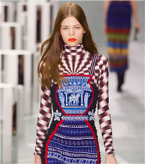 LFW: Mary Katrantzou Bahar 2017 Defilesi