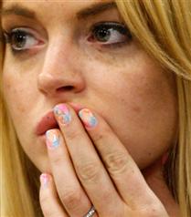 Lindsay Lohan ojesi