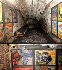 Londra metrosunda keşfedilen afişler
