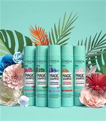 L'Oréal Paris Magic Shampoo ile Tazeliği Saçlarınıza Taşıyın!