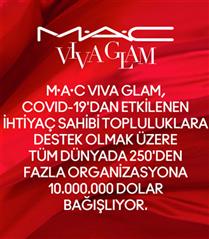 MAC Cosmetics'in İkonik %100 Bağış Kampanyası