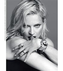 Madonna Versace saatlerinin yüzü oldu