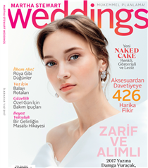 Martha Stewart Weddings Çıktı