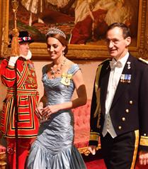 Masalsı Görünümüyle Kate Middleton