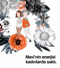 Mavi'den Kadınlara Teşekkür Videosu: 'Mavi'nin Enerjisi Kadınlarda Saklı'
