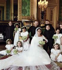 Meghan Markle ve Prens Harry'nin Kraliyet Ailesi İle İlk Fotoğrafı