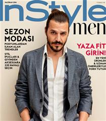 Mehmet Günsür InStyle Men Kapağında