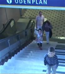 Merdiven kullanmanın en eğlenceli hali
