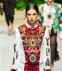 MFW: Dolce & Gabbana 2017 Bahar Defilesi