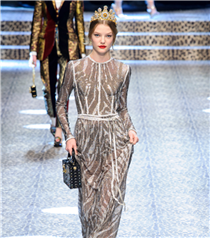 Milano Moda Haftası: Dolce and Gabbana Sonbahar 2017