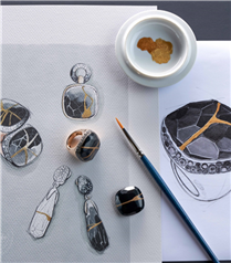 Milanolu Mücevher Markası Pomellato'dan Kintsugi Koleksiyonu