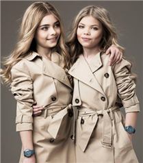 Mini Kate Moss ve Cara Delevingne