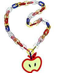 Miu Miu elma kolyesi