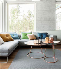 Modern oturma odaları için sehpa modelleri