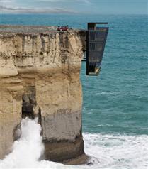 Modscape eşsiz manzaralı uçurum evini tanıttı