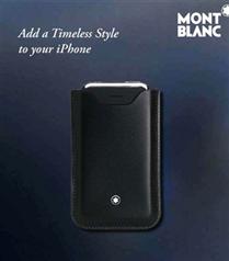 Montblanc iPhone kılıfı