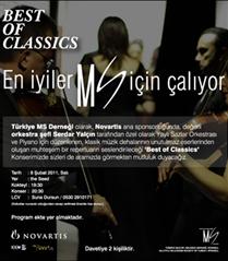 MS yararına klasik müzik konseri