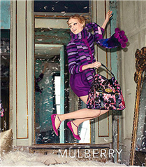 Mulberry 2010 Sonbahar reklam kampanyası