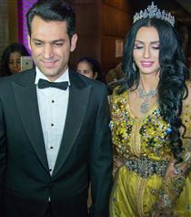 Murat Yıldırım ve İman El-Bani'den Fas'ta İkinci Düğün