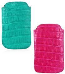 Nancy Gonzalez timsah derisi iPhone kılıfları