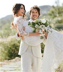 Nikki Reed ve Ian Somerhalder`in Düğününden Fotoğraflar
