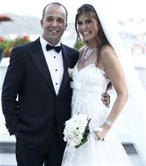 Nil Bentürk Burak Uyguner evlendi