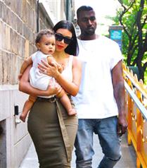 North West`in Kim Kardashian`ın hamile olmasına tepkisi