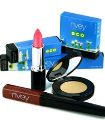 Nvey Eco ile organik makyaj