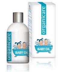 Organik bebek bakımı yağı