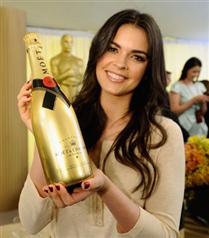 Oscar`a özel şampanya
