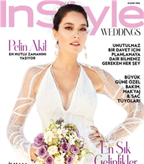 Pelin Akil ve Anıl Altan InStyle Weddings'de