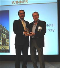 Pera Palas Türkiye`nin en iyi oteli